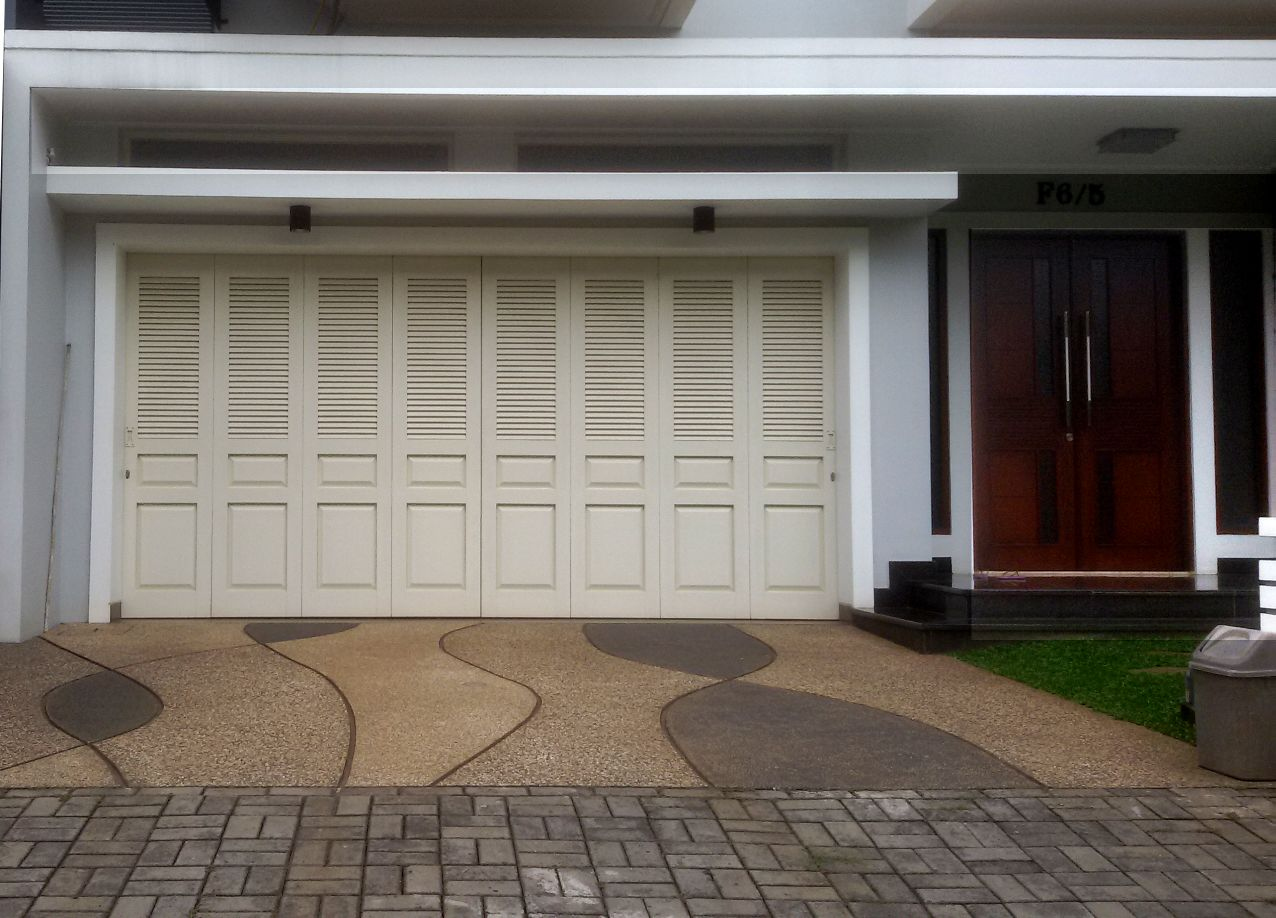 Pintu Garasi Upvc, HOTLINE 081-233-8888-61