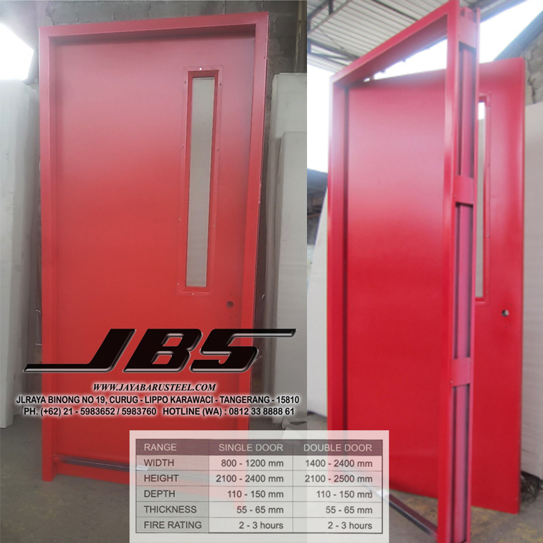 Emergency Exit Door Manufacturers, HOTLINE 081-233-8888-61