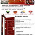 Pintu Rumah Minimalis - JBS DOOR 1